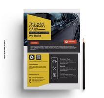 folleto de negocios moderno plantilla lista para imprimir