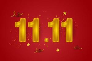 11.11 day banner design