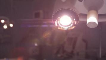 lámpara de cirugía de hospital