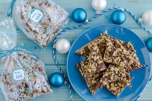 galletas navideñas de chocolate dulce
