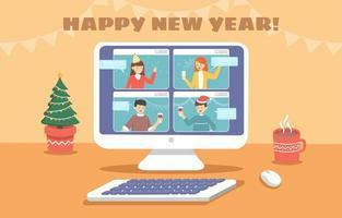 Celebrate New Year Virtually
