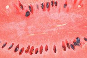 Close-up photo of a watermelon