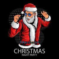 Santa Claus at christmas party