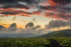 Sunrise Over Round Bald