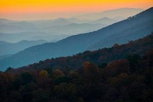 Foothills Parkway in Great Smoky Mountains National Park photo