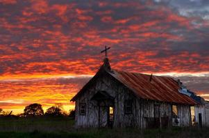 Abandoned Church in Texas