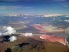 The Great Salt Lake from above