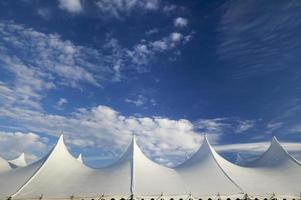 Event tent, Stowe, Vermont, USA
