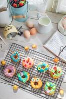 Delicious donuts made of fresh ingredients