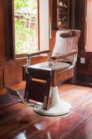 Vintage Barbershop Armchair photo