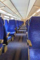 Interior of railway wagon