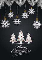 Deluxe Christmas greeting card