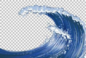 Sea giant waves