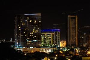 Miami, Florida, 2020 - Cityscape at nighttime