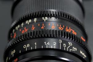 Close-up of a camera lens