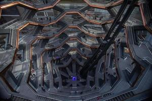 New York City, 2020 - Looking down through The Vessel
