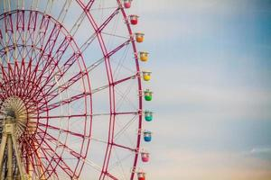 Tokyo, Japan, 2020 - Rainbow-colored Ferris wheel