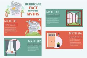 Hurricane Facts and Myths Infographic