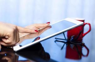 Using digital tablet photo
