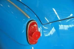 Vintage car detail photo