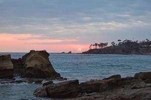 Heisler Park Sunset Laguna Beach