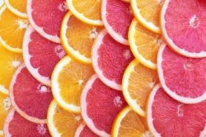 Orange and grapefruit