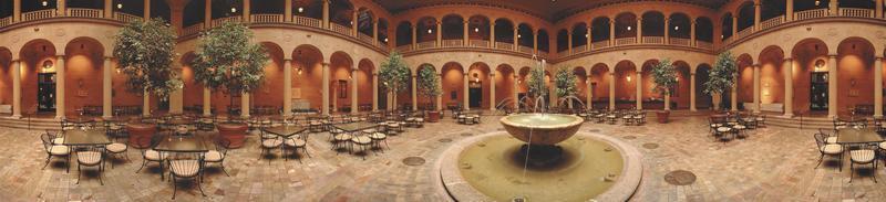 Rozzelle Court Restaurant Nelson Atkins Art Museum photo
