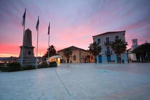 Main square in Nafplio, Greece. photo
