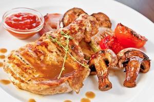 Grilled chicken photo