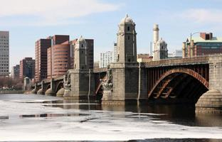Longfellow Bridge , Boston Ma