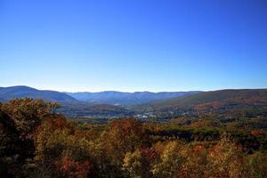 Overlooking North Adams, Massachusetts photo