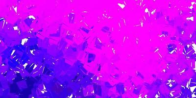Purple and pink shapes background vector