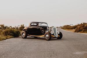 Ciudad del Cabo, Sudáfrica, 2020 - Ford clásico modelo a coche