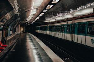 Underground station in Paris