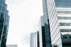High rise modern buildings
