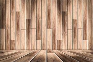 Wood floor plates