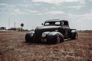 Ciudad del Cabo, Sudáfrica, 2020 - Custom 1940 Ford Pick-up Rat