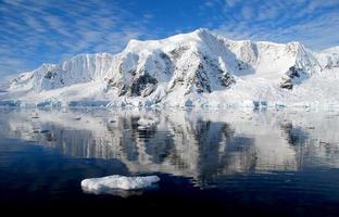 ice floe in antarctica photo