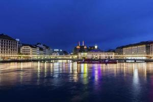 View on Geneva in Switzerland