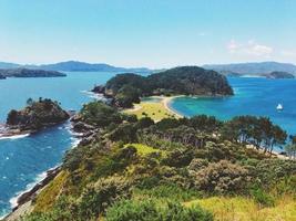 Motuarohia Island Landscape View New Zealand