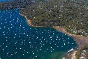 Aerial view of Pittwater
