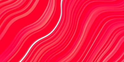 Red template with curved lines.