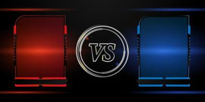 Versus competition red and blue frame set