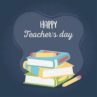 feliz celebración del día del maestro