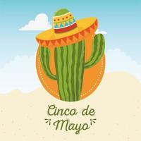 elementos mexicanos para la celebración del cinco de mayo