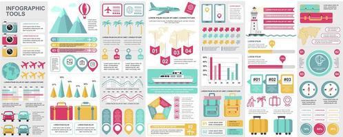 Infographic, UI, UX, KIT elements bundle