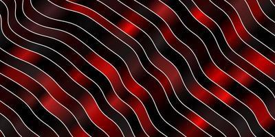 patrón rojo oscuro con curvas. vector