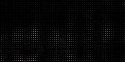Black background with yellow dots.