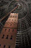 Melbourne, Australia, 2020 - Looking up at Coop's Shot Tower