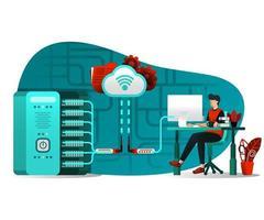 Cloud server interface technology